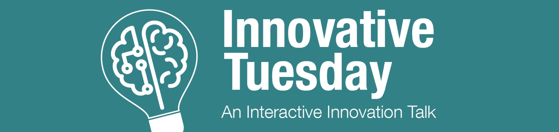 Innovative Tuesday <br> 14 May 2019