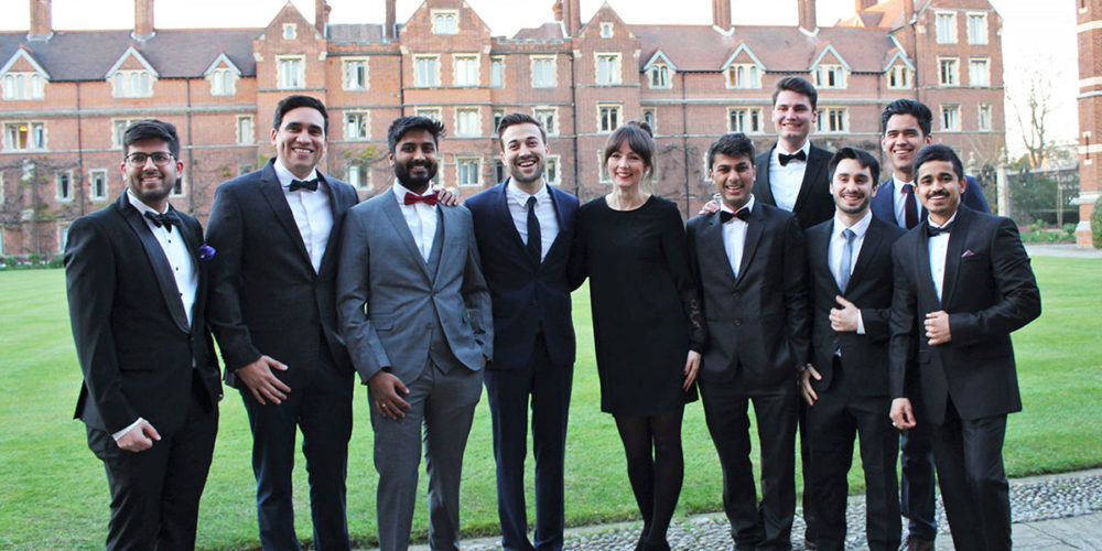 Students of the MME TIME at Cambridge University