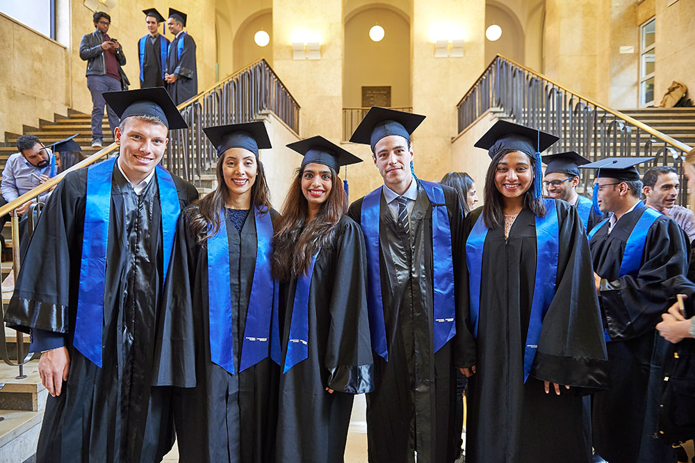 MME TIME students at graduation
