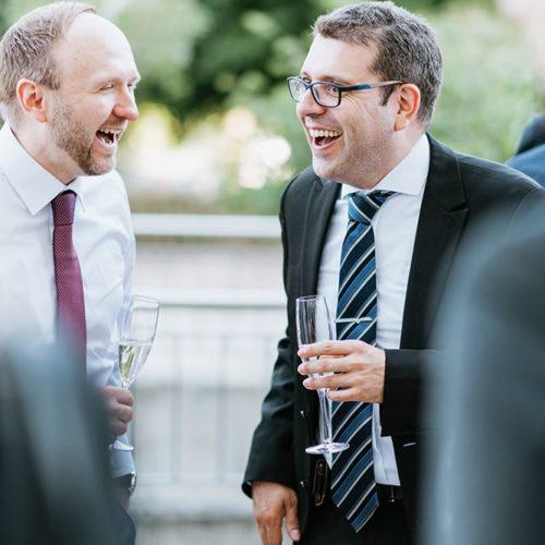 Umtrunk der Graduierung des Executive MBA der RWTH Aachen