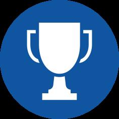 Icon Pokal für Akkreditierungen