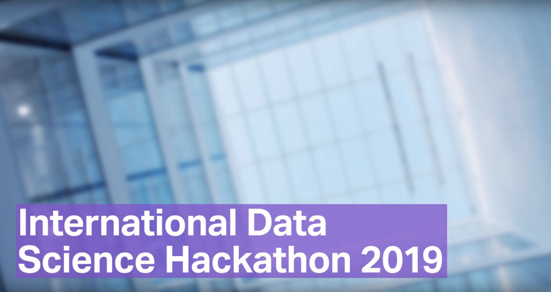 Preview Image for the video about the international data science hackathon by Covestro.
